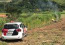Carro usado em crime em Jacareí é encontrado carbonizado em Atibaia