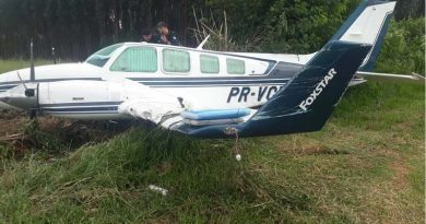 Após acidente no pouso de avião, cinco suspeitos de associação ao tráfico são presos em Atibaia
