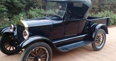 Passeio de carros antigos vai acontecer nesta quarta-feira