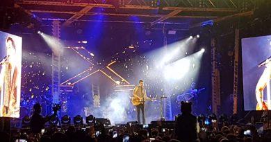 Cerca de 35 mil pessoas curtiram show de Luan Santana no Centro de Convenções