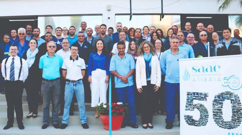 SAAE Atibaia completa 50 anos de atividades