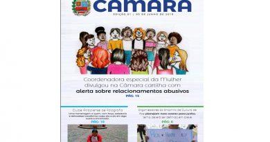 Câmara lança revista legislativa em parceria com a Unifaat