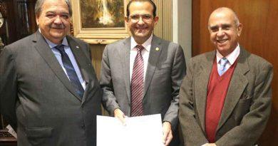 José Henrique Germann Ferreira, Edmir Chedid e Paulo Roberto de Freitas.