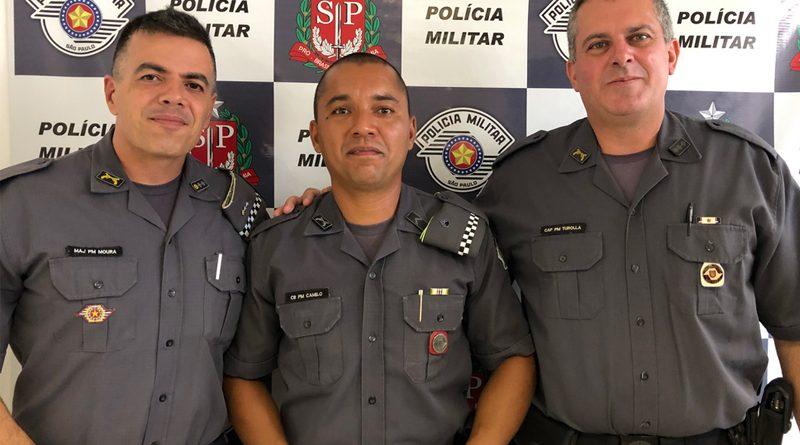 Cabo Camilo é o policial do mês de setembro
