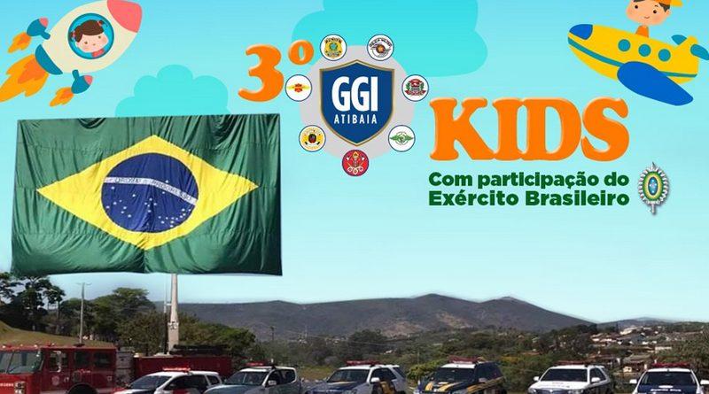 Neste sábado (19) acontece a 3ª edição do GGI Kids em Atibaia