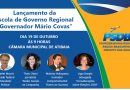 Coordenadoria lança escola regional de governo e homenageia Covas