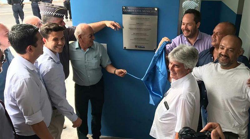 Nova base da Guarda Civil Municipal de Atibaia é inaugurada