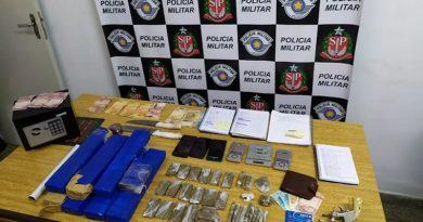 Dois são presos com mais de 7 kg de maconha em lava-rápido em Perdões