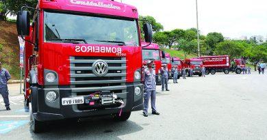 Governo de SP entrega 1.820 viaturas para reforçar frota da Polícia Militar