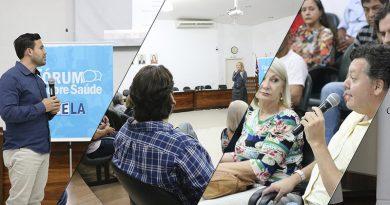 Primeira semana de Fórum Sobre Saúde trouxe muitas informações e público para a Câmara Municipal