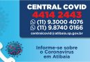 Prefeitura tem Central de Informações sobre o Coronavírus