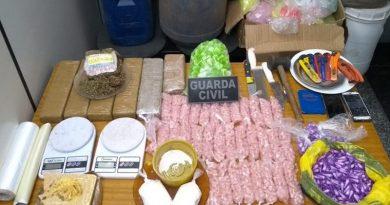 Guarda Municipal faz apreensão de drogas em Caetetuba