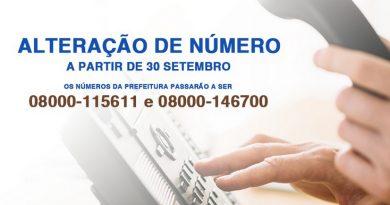 Telefones 0800 da Prefeitura passarão a ser 08000 em setembro