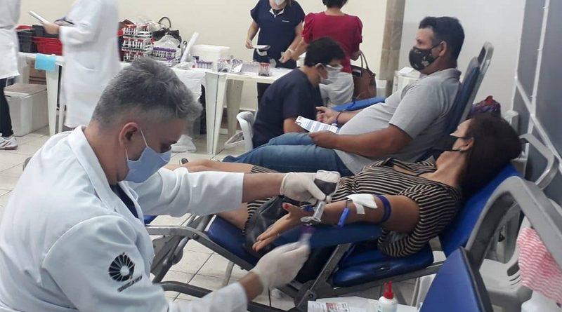 Coletas de sangue do Rotary e da Casa da Amizade completaram 4 anos