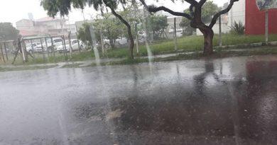 Defesa Civil alerta para risco de tempestades na região