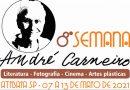 8ª Semana André Carneiro começa nesta sexta-feira