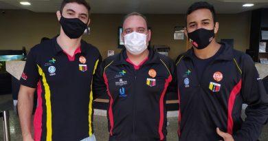 Judocas atibaienses se apresentam para treinamento da Seleção Brasileira de Judô