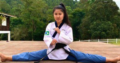 Atleta de Atibaia é campeã no Circuito Brasileiro de Taekwondo