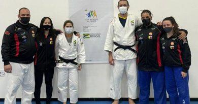 Judocas atibaienses participam de ação da CBJ e  preparador físico Roger Fonseca é convocado para Tóquio